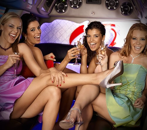 Bachelor or bachelorett epaarty limo services for the entire SF Bay Area